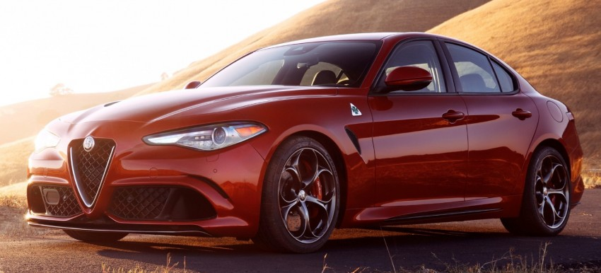 2017 Alfa Romeo Giulia Quadrifoglio fully detailed, 505 hp/600 Nm sedan set to make US debut in Q2 2016 Image #409170