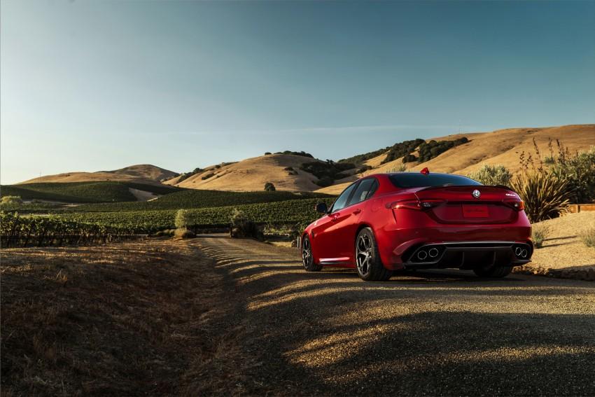 2017 Alfa Romeo Giulia Quadrifoglio fully detailed, 505 hp/600 Nm sedan set to make US debut in Q2 2016 Image #409173