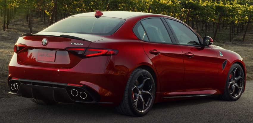 2017 Alfa Romeo Giulia Quadrifoglio fully detailed, 505 hp/600 Nm sedan set to make US debut in Q2 2016 Image #409174