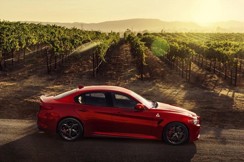 2017 Alfa Romeo Giulia Quadrifoglio fully detailed, 505 hp/600 Nm sedan set to make US debut in Q2 2016 Image #409175