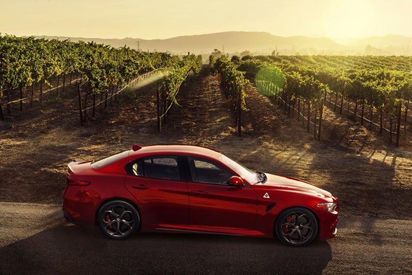 2017 Alfa Romeo Giulia Quadrifoglio fully detailed, 505 hp/600 Nm sedan set to make US debut in Q2 2016 Image #409175