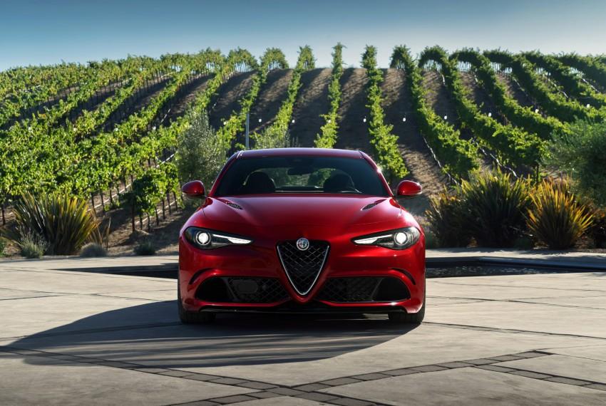 2017 Alfa Romeo Giulia Quadrifoglio fully detailed, 505 hp/600 Nm sedan set to make US debut in Q2 2016 Image #409176
