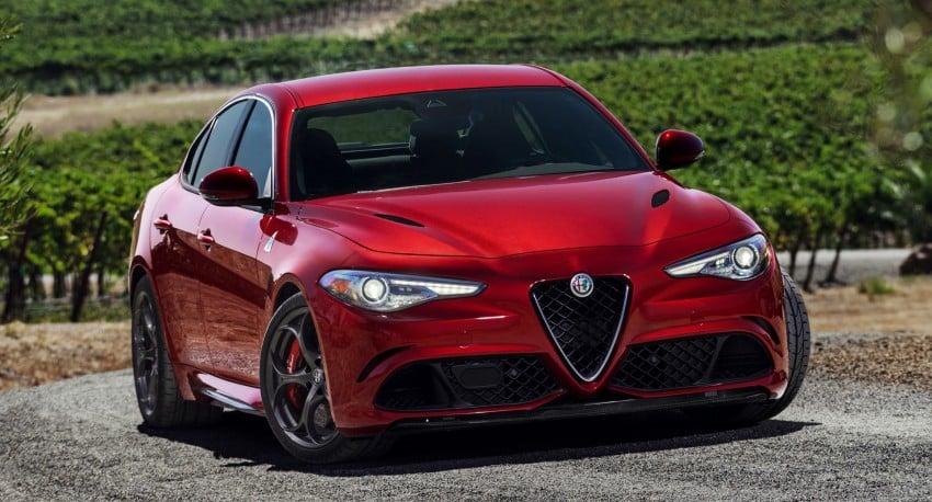2017 Alfa Romeo Giulia Quadrifoglio fully detailed, 505 hp/600 Nm sedan set to make US debut in Q2 2016 Image #409179