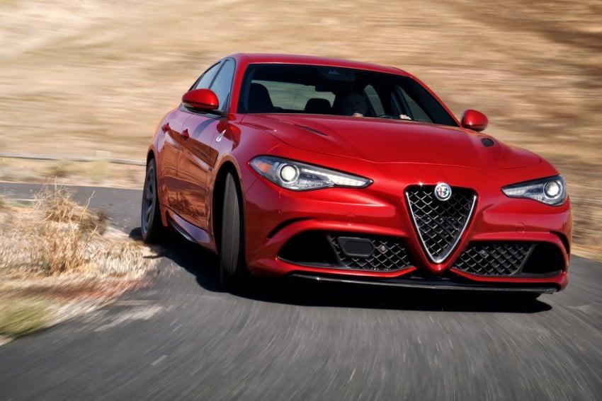 2017 Alfa Romeo Giulia Quadrifoglio fully detailed, 505 hp/600 Nm sedan set to make US debut in Q2 2016 Image #409181