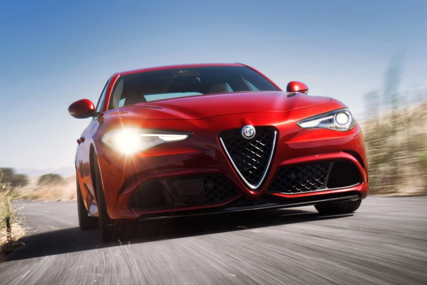 2017 Alfa Romeo Giulia Quadrifoglio fully detailed, 505 hp/600 Nm sedan set to make US debut in Q2 2016 Image #409184