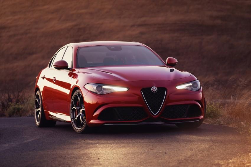 2017 Alfa Romeo Giulia Quadrifoglio fully detailed, 505 hp/600 Nm sedan set to make US debut in Q2 2016 Image #409186