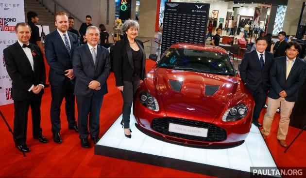 Aston Martin Malaysia return Wearnes 2