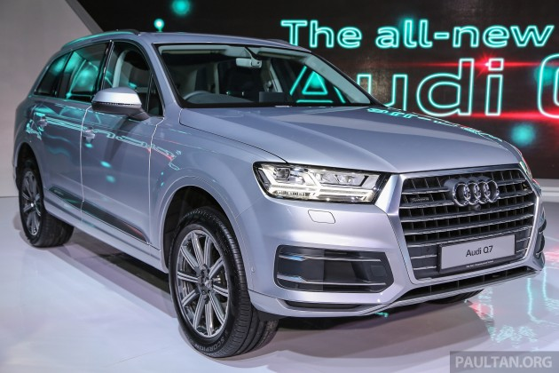 new car launches malaysiaNew Audi Q7 launched in Malaysia  30 TFSI RM590k