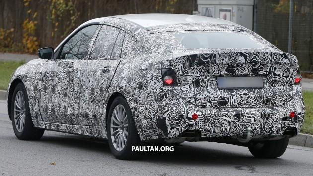 2017 BMW 5 Series Gran Turismo spyshot