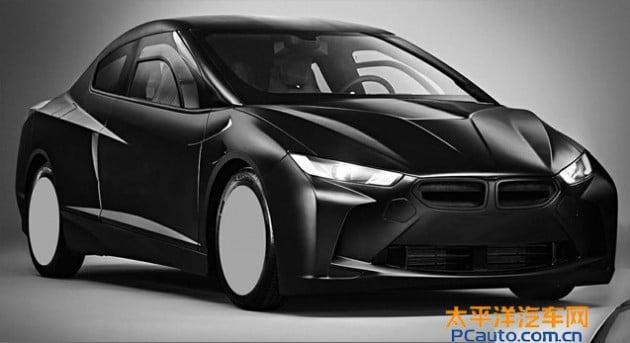 BMW patent front three quarter
