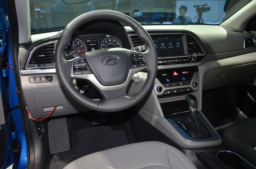 2017 Hyundai Elantra gets new 1.4 turbo, 7-speed DCT Image #411036