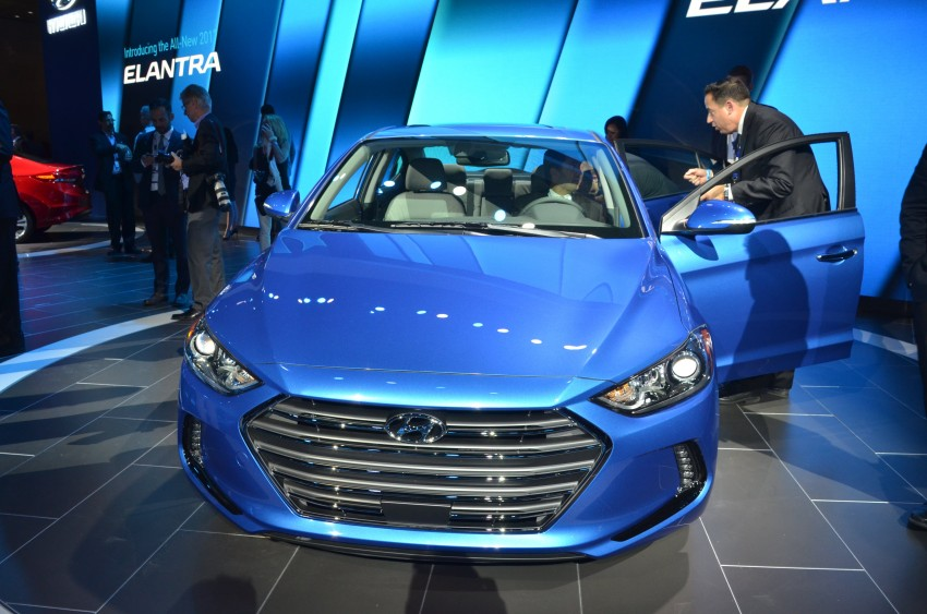 2017 Hyundai Elantra gets new 1.4 turbo, 7-speed DCT Image #411034