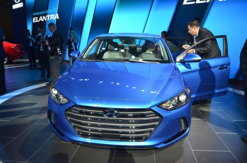2017 Hyundai Elantra gets new 1.4 turbo, 7-speed DCT Image #411034