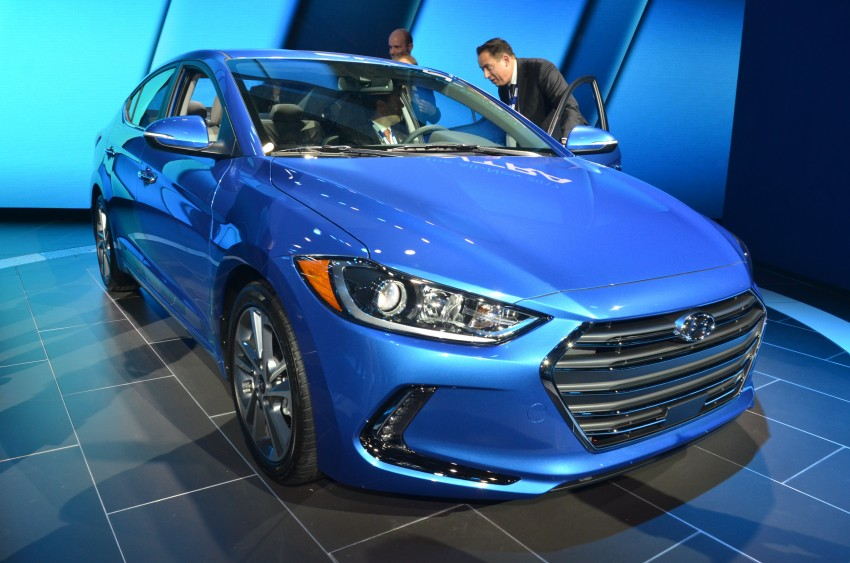 2017 Hyundai Elantra gets new 1.4 turbo, 7-speed DCT Image #411029