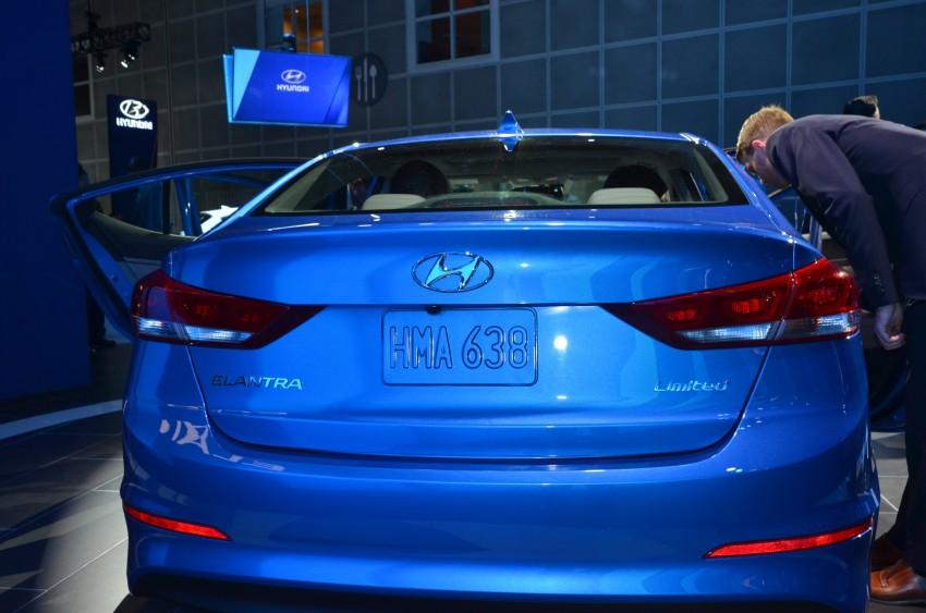 2017 Hyundai Elantra gets new 1.4 turbo, 7-speed DCT Image #411030