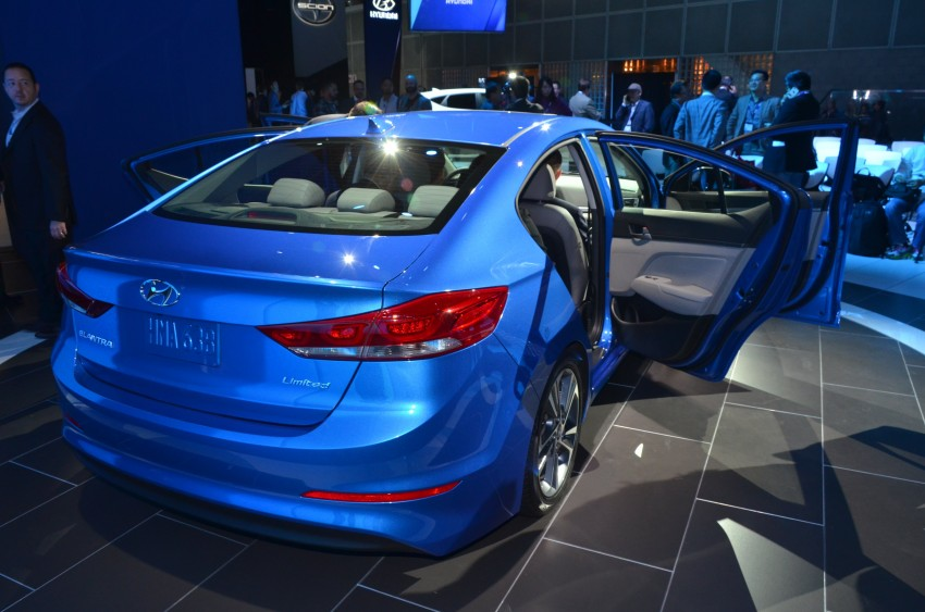 2017 Hyundai Elantra gets new 1.4 turbo, 7-speed DCT Image #411028