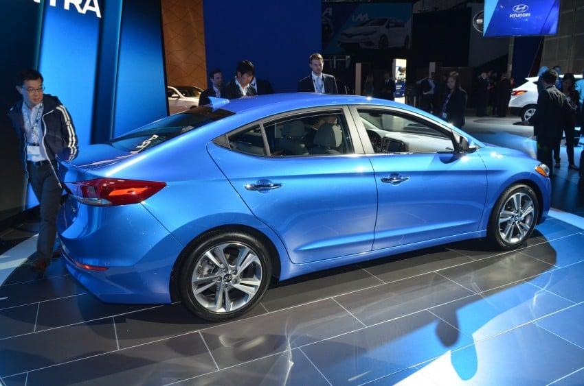 2017 Hyundai Elantra gets new 1.4 turbo, 7-speed DCT Image #411027