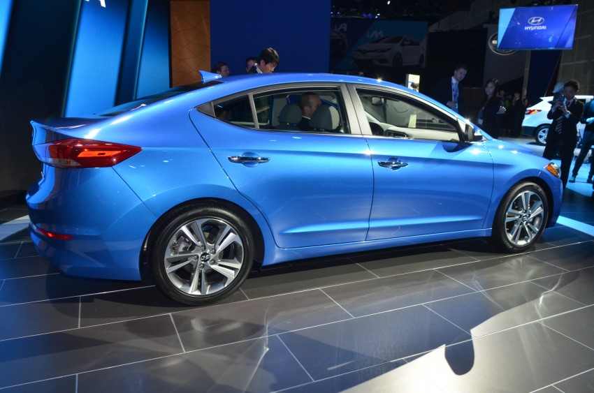 2017 Hyundai Elantra gets new 1.4 turbo, 7-speed DCT Image #411026