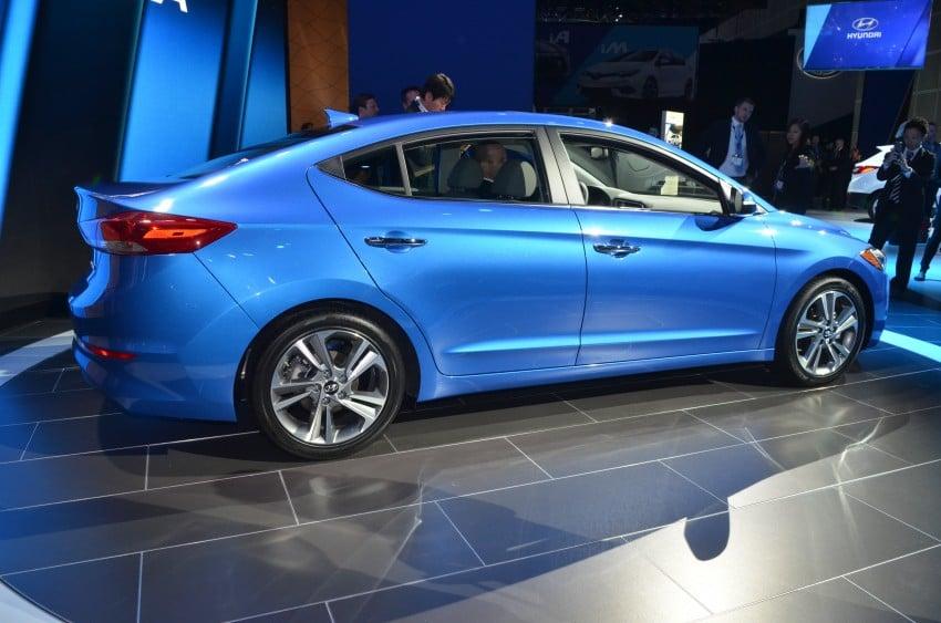 2017 Hyundai Elantra gets new 1.4 turbo, 7-speed DCT Image #411025