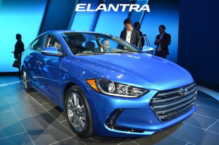 2017 Hyundai Elantra gets new 1.4 turbo, 7-speed DCT Image #411023