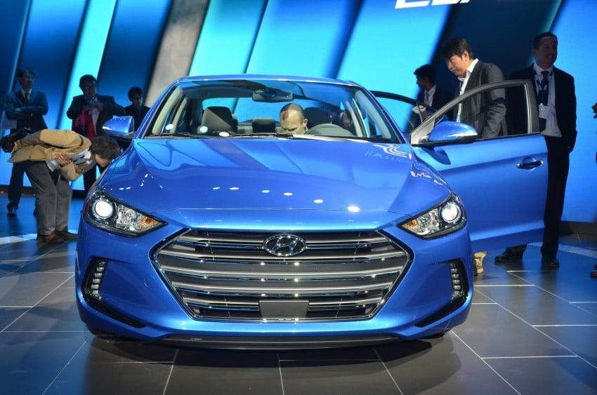 2017 Hyundai Elantra gets new 1.4 turbo, 7-speed DCT Image #411022