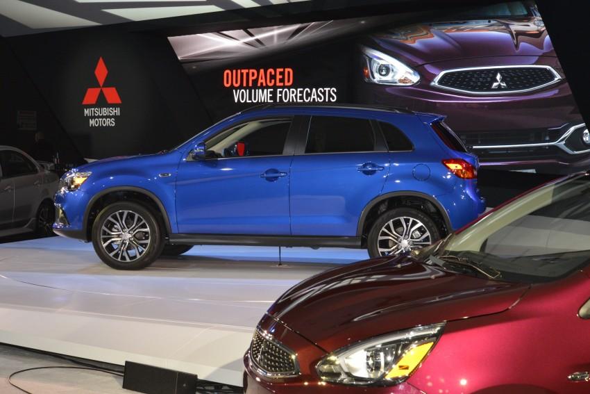 LA 2015: Mitsubishi ASX facelifted for the US market Image #411094