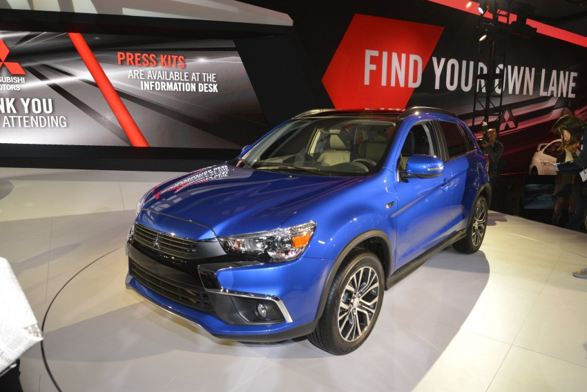 LA 2015: Mitsubishi ASX facelifted for the US market Image #411099