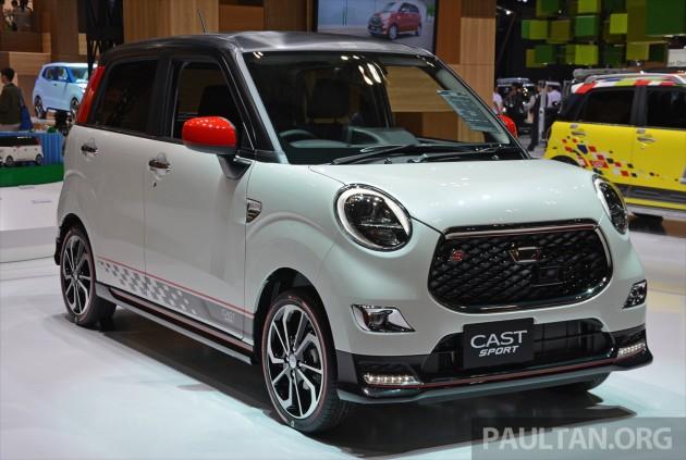 Tokyo Daihatsu Cast Sport Racy Kei Car Debuts