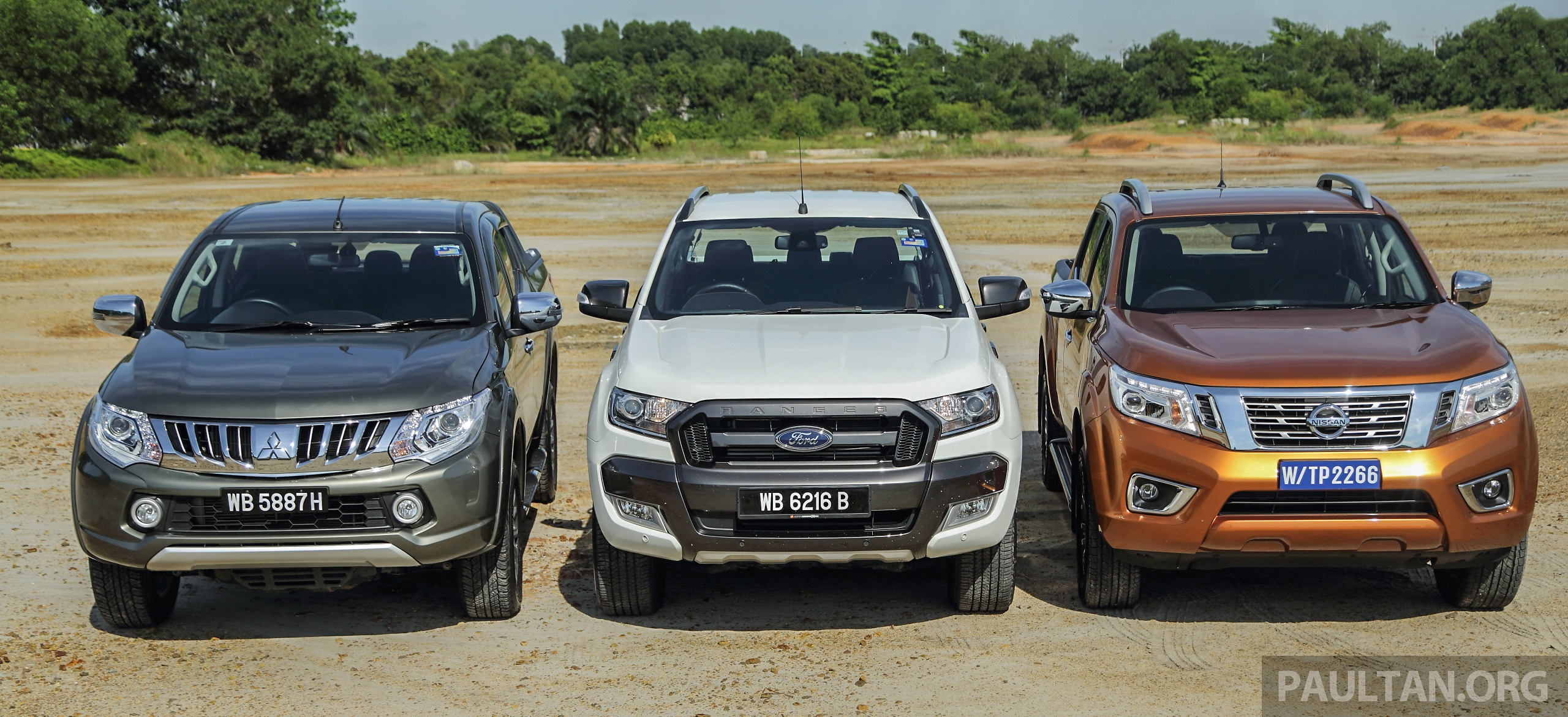 Mazda Bt50 2018 >> Driven Web Series 2015 #5: best pick-ups in Malaysia – Nissan Navara vs Ford Ranger vs ...