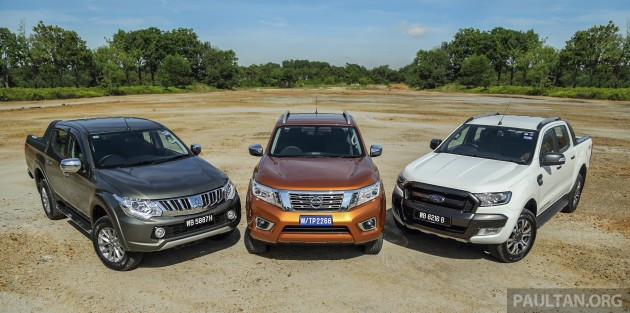Driven Nissan Navara vs Ford Ranger vs Mitsubishi Triton  002