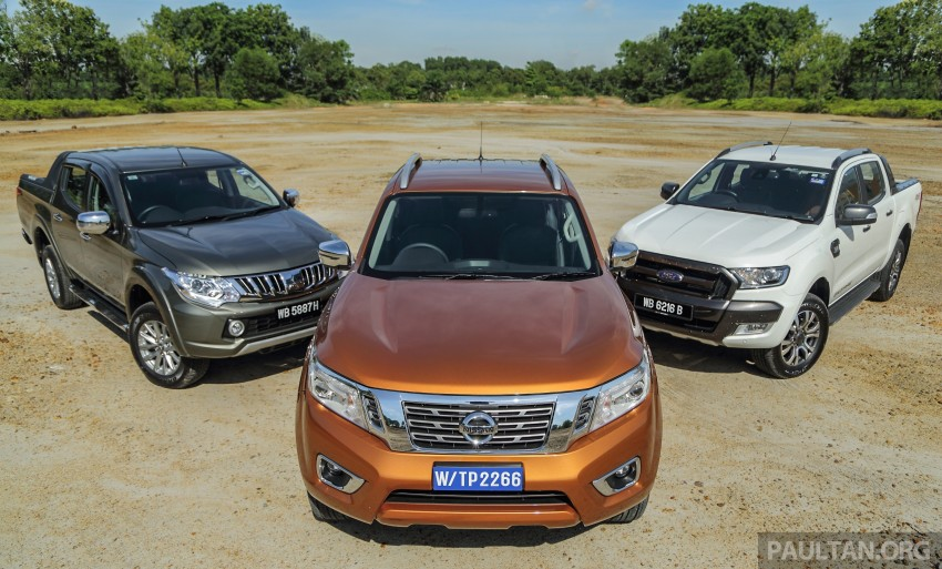 Driven Web Series 2015 #5: best pick-ups in Malaysia – Nissan Navara vs Ford Ranger vs Mitsubishi Triton Image #412557
