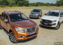Driven Nissan Navara vs Ford Ranger vs Mitsubishi Triton  004