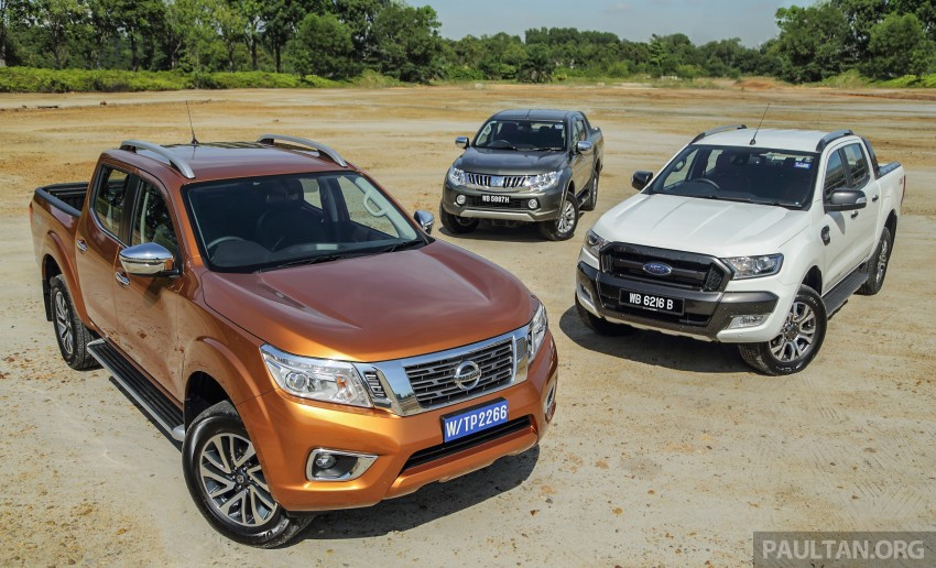 Driven Web Series 2015 #5: best pick-ups in Malaysia – Nissan Navara vs Ford Ranger vs Mitsubishi Triton Image #412558