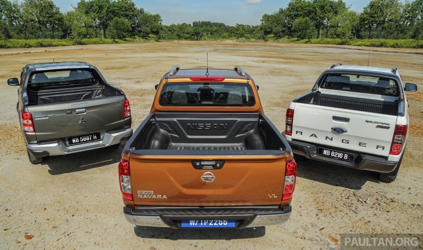 Driven Web Series 2015 #5: best pick-ups in Malaysia – Nissan Navara vs Ford Ranger vs Mitsubishi Triton Image #412559