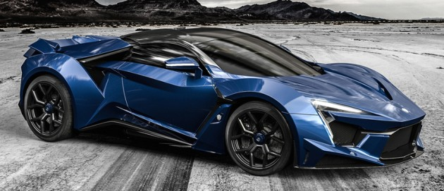 "W Motors unveil of the most recent hypercar, the Fenyr SuperSport""The earth will shake violently, trees will be uprooted, mountains will fall, and all binds will snap – Fenyr will be free."""