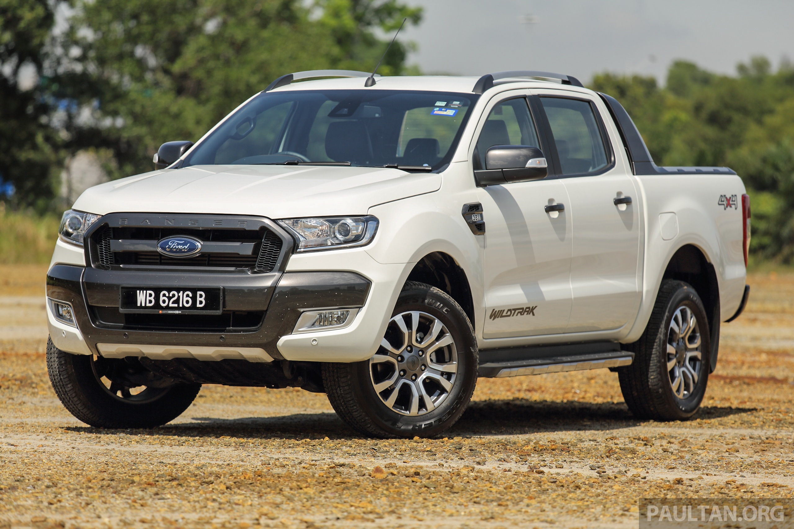 2016 ford ranger prices revised 2 2 3 2 xlt variants up. Black Bedroom Furniture Sets. Home Design Ideas