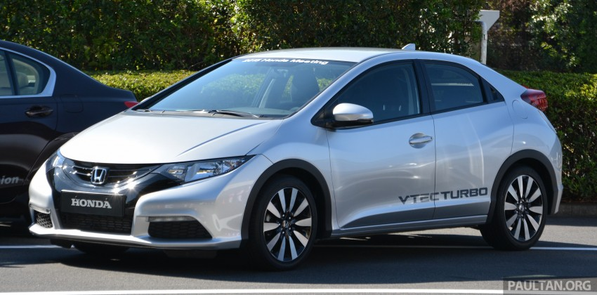 DRIVEN: Honda 1.0 and 1.5 litre VTEC Turbo – first impressions via a Euro Civic hatch and Jade RS MPV Image #404655