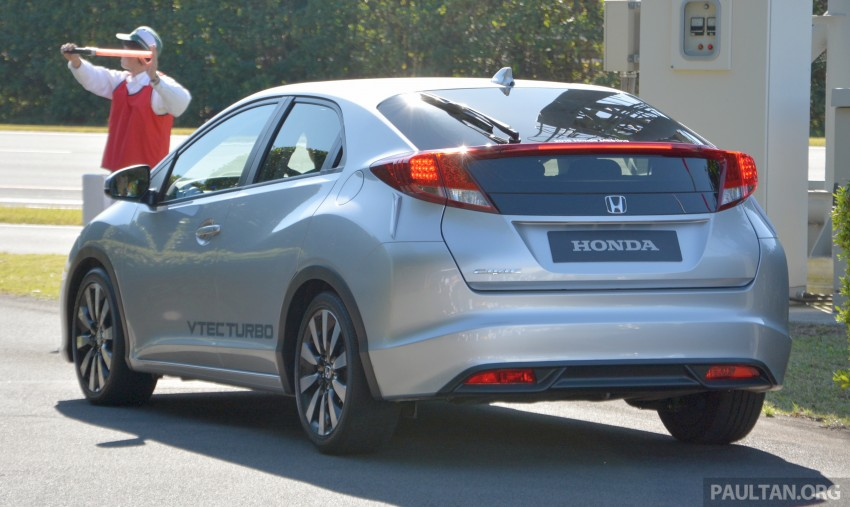 DRIVEN: Honda 1.0 and 1.5 litre VTEC Turbo – first impressions via a Euro Civic hatch and Jade RS MPV Image #404654