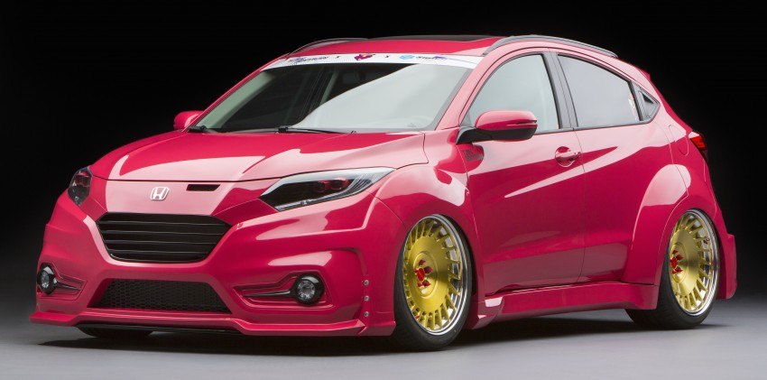 ... Honda Civic, facelifted CR-Z, Pilot and Pioneer 1000 at SEMA Image