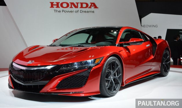 2016 Honda Nsx Priced From Rm755k In Europe Higher Than The Merc Amg Gt Bmw I8 And Audi R8