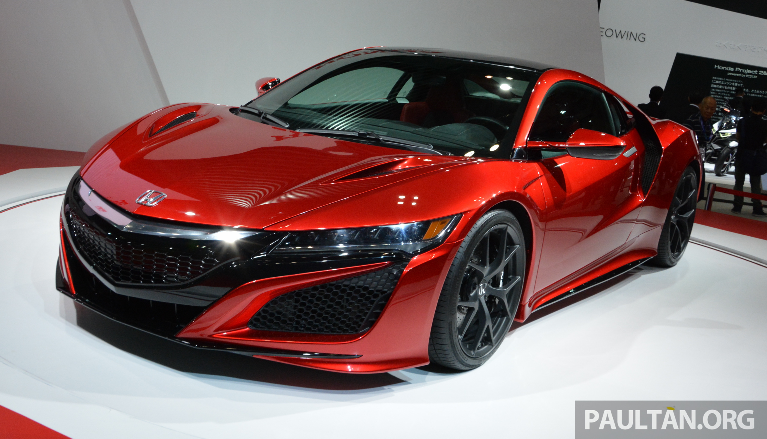 next honda nsx type r to feature rear wheel drive. Black Bedroom Furniture Sets. Home Design Ideas