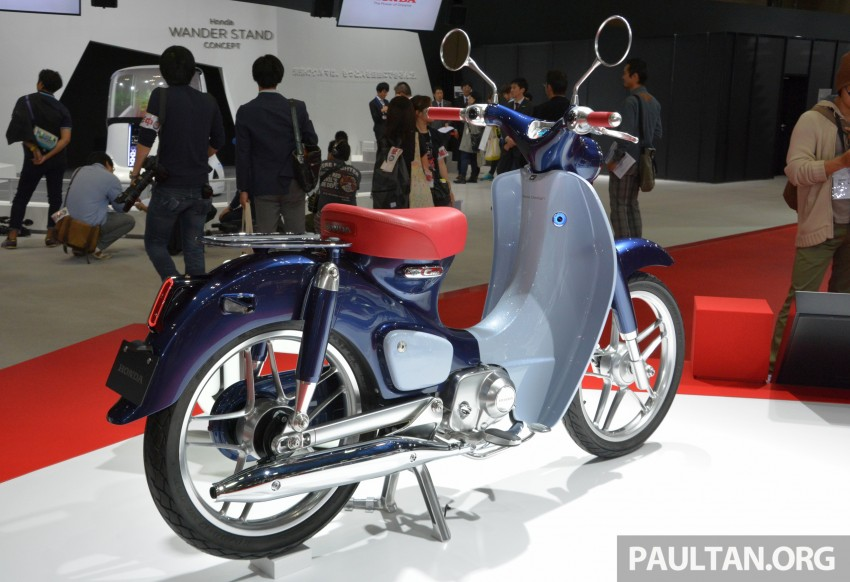 Tokyo 2015: Honda Super Cub Concept and EV Cub Concept – leading the parade of two-wheelers Image #402384