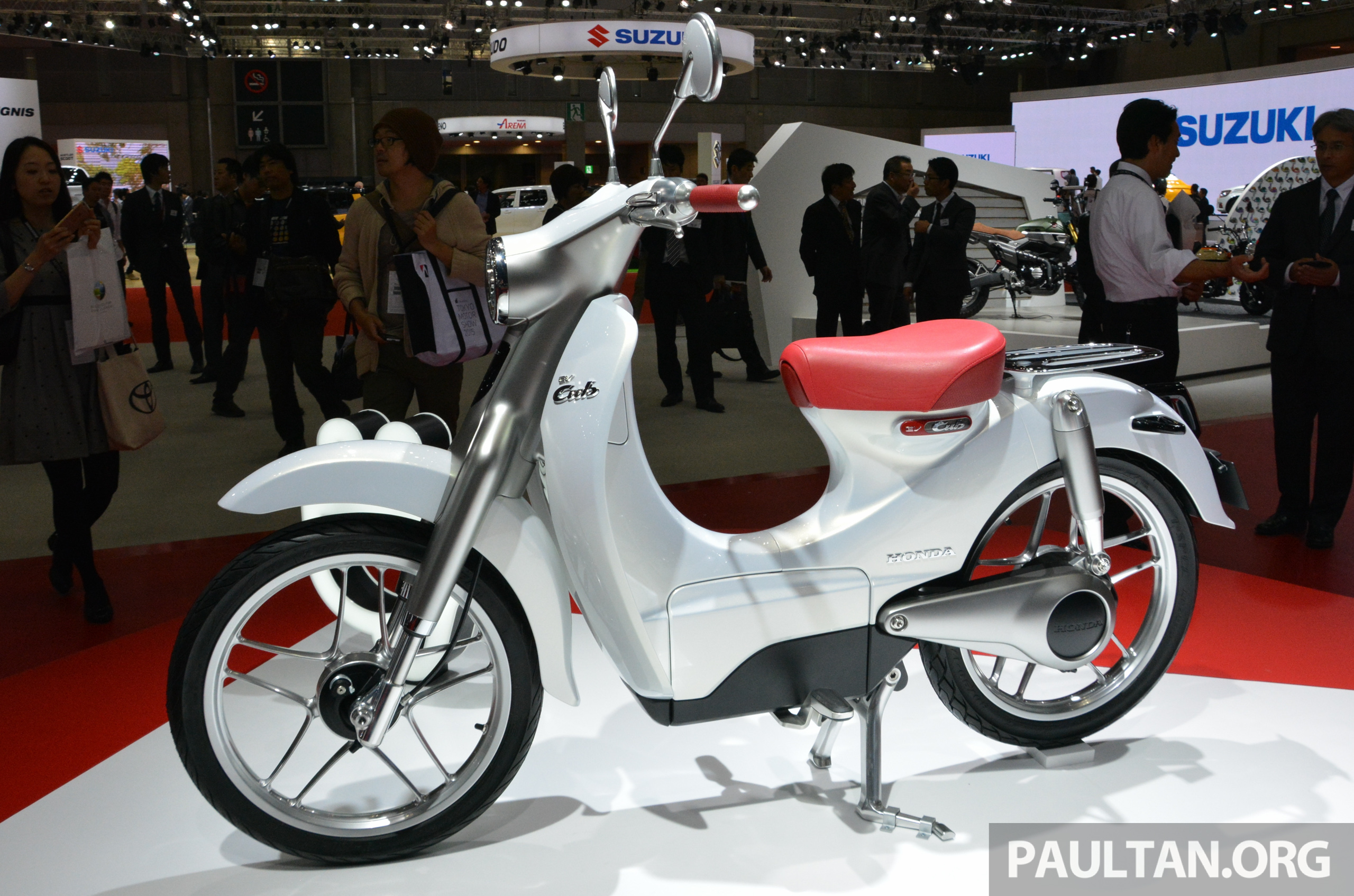 honda ev cub electric bike out in japan in two years asean markets to follow is malaysia. Black Bedroom Furniture Sets. Home Design Ideas