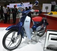 Honda Super Cub Concept and EV-Cub Concept TMS-7