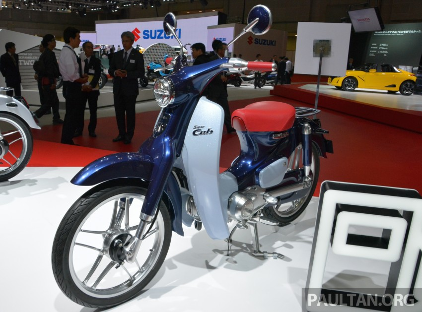 Tokyo 2015: Honda Super Cub Concept and EV Cub Concept – leading the parade of two-wheelers Image #402391