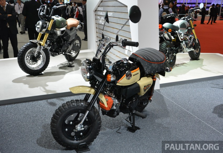 Tokyo 2015: Honda Super Cub Concept and EV Cub Concept – leading the parade of two-wheelers Image #402423