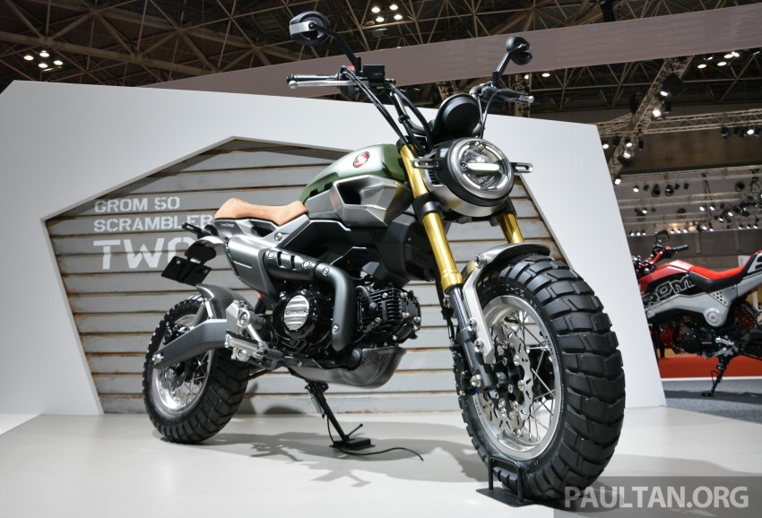 Tokyo 2015: Honda Super Cub Concept and EV Cub Concept – leading the parade of two-wheelers Image #402425
