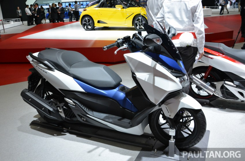 Tokyo 2015: Honda Super Cub Concept and EV Cub Concept – leading the parade of two-wheelers Image #402413