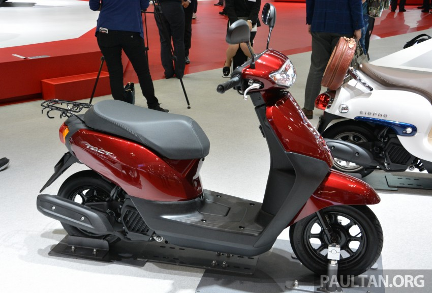 Tokyo 2015: Honda Super Cub Concept and EV Cub Concept – leading the parade of two-wheelers Image #402414