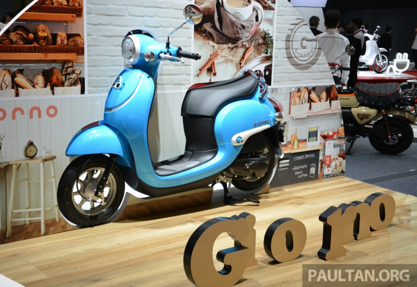 Tokyo 2015: Honda Super Cub Concept and EV Cub Concept – leading the parade of two-wheelers Image #402416